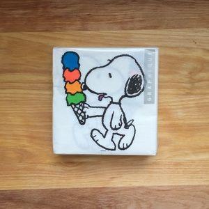 Other - Snoopy w/ ice cream 3-ply beverage napkins